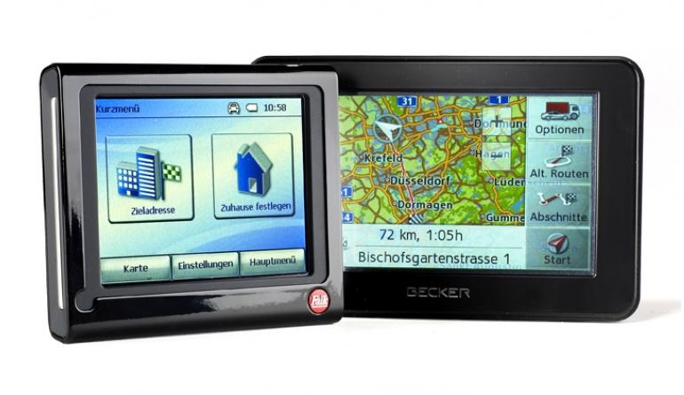 Portable Navigationssysteme Becker Traffic Assist Z113, Falk M4 3rd im Test , Bild 1