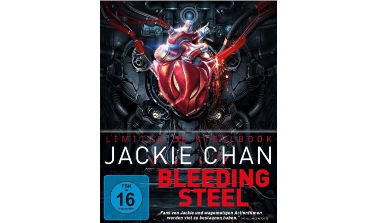 DVD Film Bleeding Steel – Limited Steelbox (Splendid) im Test, Bild 1