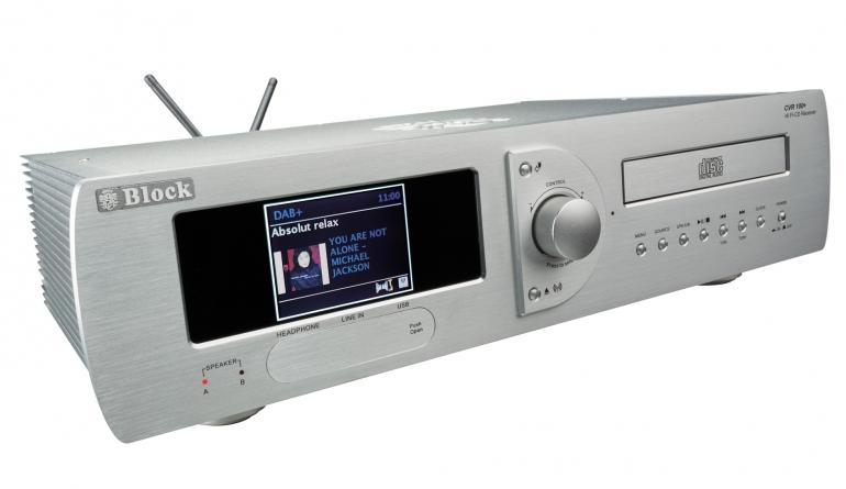 CD-Receiver Block CVR-100+MKII im Test, Bild 1