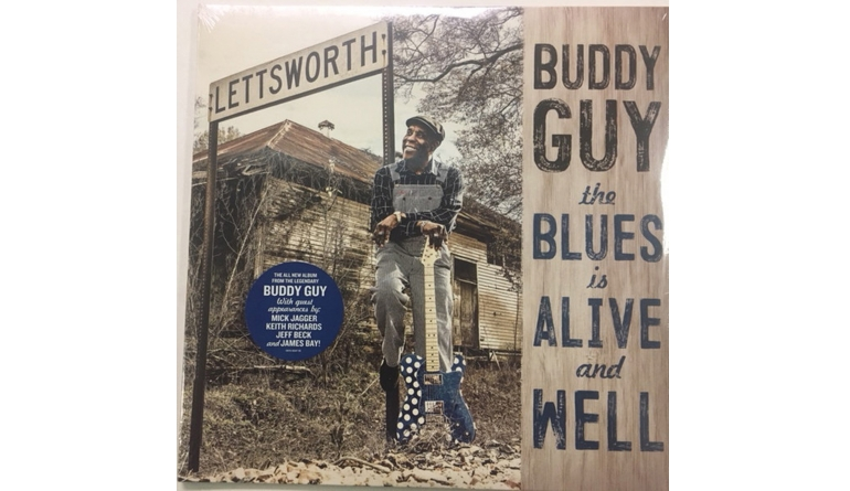 Schallplatte Buddy Guy – The Blues Is Alive and Well (Silvertone Records) im Test, Bild 1