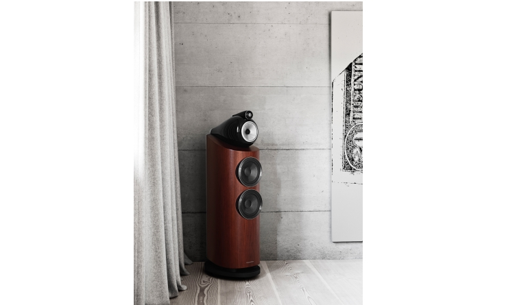 Lautsprecher Stereo B&W Bowers & Wilkins 803 D3, Rotel RC-1590 / RB-1590 im Test , Bild 1