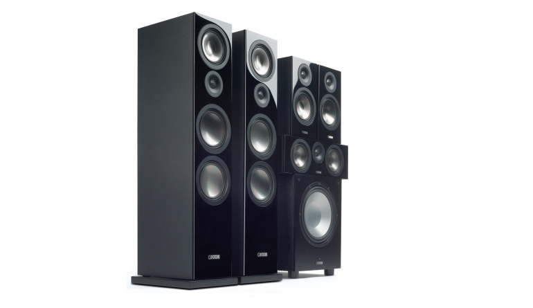 Lautsprecher Surround Canton Chrono 5.1-Set im Test, Bild 1