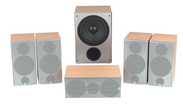Lautsprecher Surround Canton LE 130 im Test, Bild 1