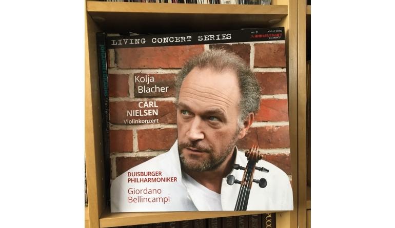 Schallplatte Carl Nielsen – Violinkonzert – Kolja Blacher, Violine – Duisburger Philharmoniker, Giordano Bellincampi (Acousence) im Test, Bild 1