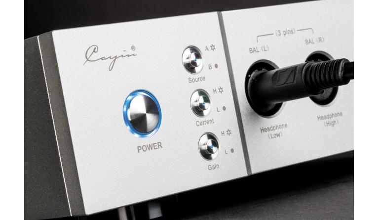 Kopfhörerverstärker Cayin iHA-6 im Test, Bild 1