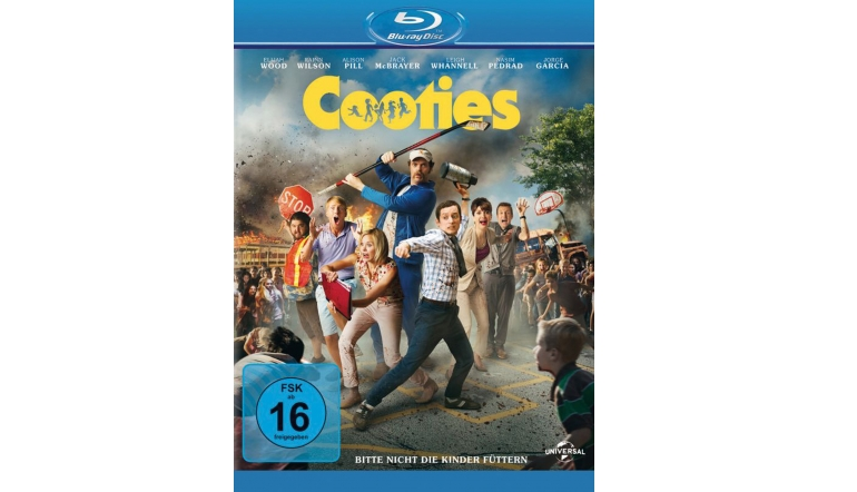 Blu-ray Film Cooties (Universal) im Test, Bild 1