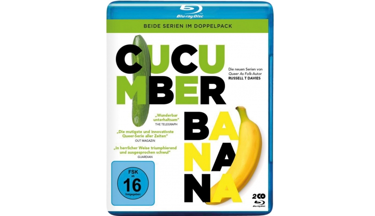 Blu-ray Film Cucumba & Banana – Beide Serien im Doppelback (Polyband) im Test, Bild 1
