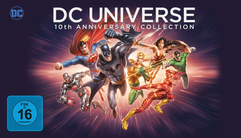 Blu-ray Film DC Universe – 10th Anniversary Collection (Warner Bros.) im Test, Bild 1
