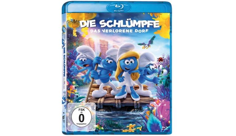 Blu-ray Film Die Schlümpfe – Das verlorene Dorf (Sony) im Test, Bild 1