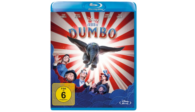 Blu-ray Film Dumbo (Walt Disney) im Test, Bild 1