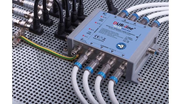Zubehör Heimkino Dura-Sat DUR-line MS 5/x blue eco, Dura-Sat DUR-line MS 5/x G-HQ im Test , Bild 1