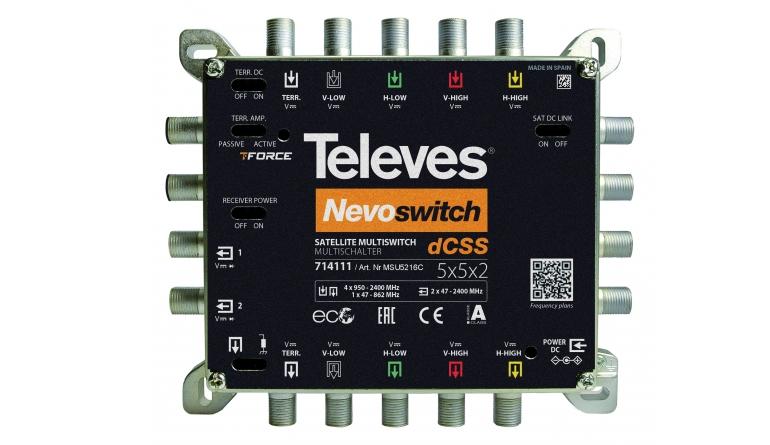 Zubehör Heimkino Durasat DUR-line MS 58 B, Televes dCSS NevoSwitch MSU5216C im Test , Bild 1