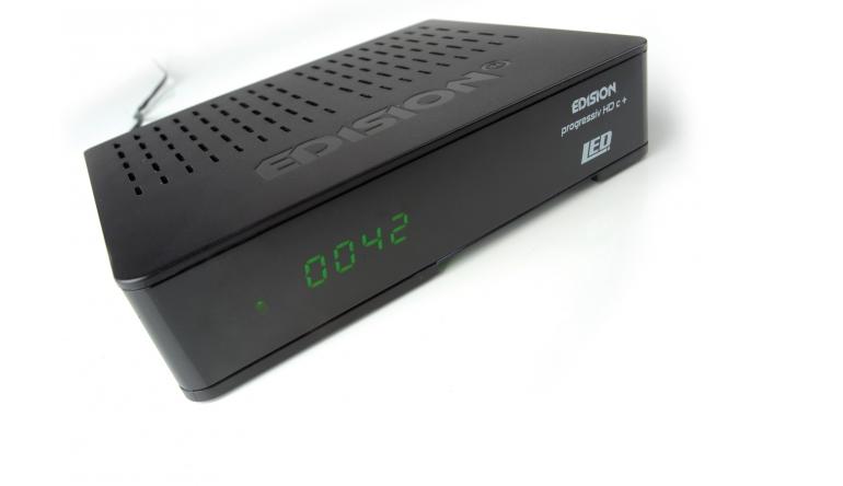 Sat Receiver ohne Festplatte Edision Progressiv HD c+ nano plus LED im Test, Bild 1