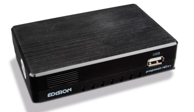 Sat Receiver ohne Festplatte Edision progressiv HD c+ im Test, Bild 1