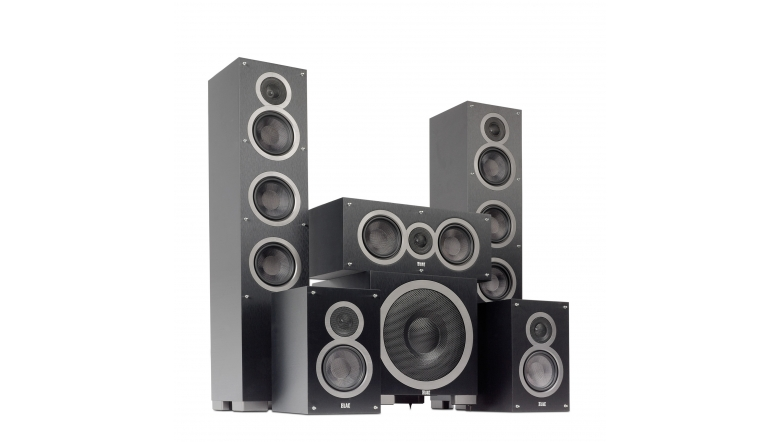 Lautsprecher Surround Elac Debut Series 5.1-Set im Test, Bild 1