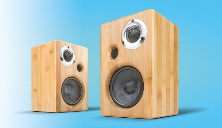 Lautsprecher Stereo Epic Audio MS90 im Test, Bild 1