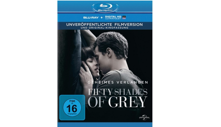Blu-ray Film Fifty Shades of Grey – Geheimes Verlagen (Universal) im Test, Bild 1
