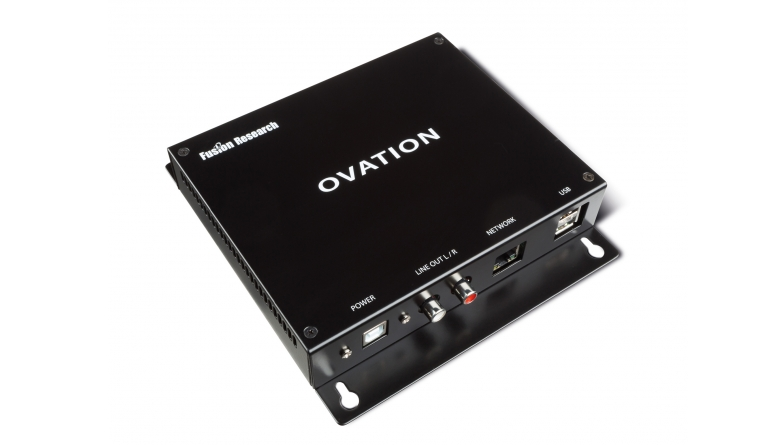 Musikserver Fusion Research Ovation Signature Mk II im Test, Bild 1