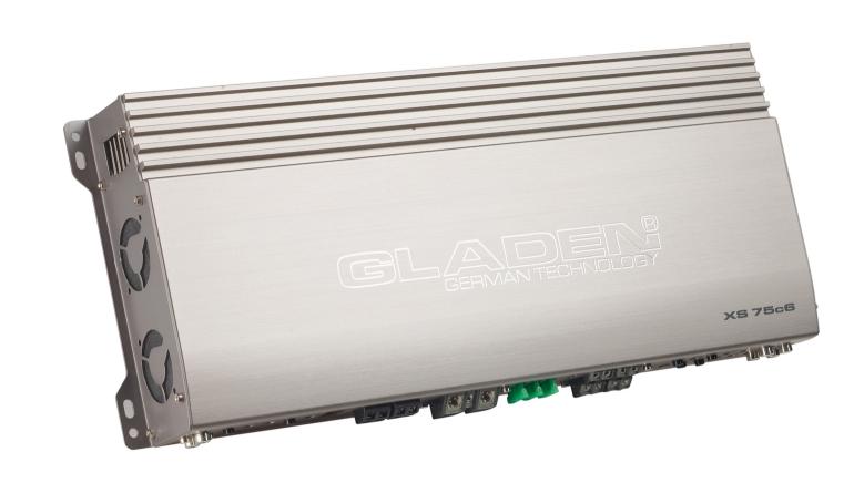 Car HiFi Endstufe Multikanal Gladen Audio XS75c6 im Test, Bild 1