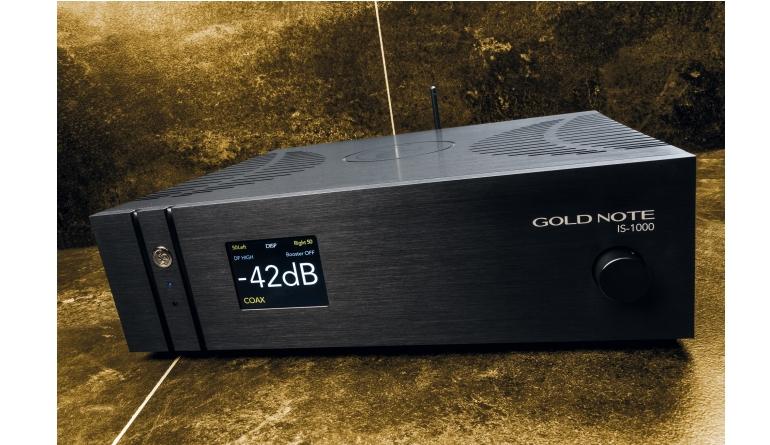 Vollverstärker Goldnote IS-1000 im Test, Bild 1