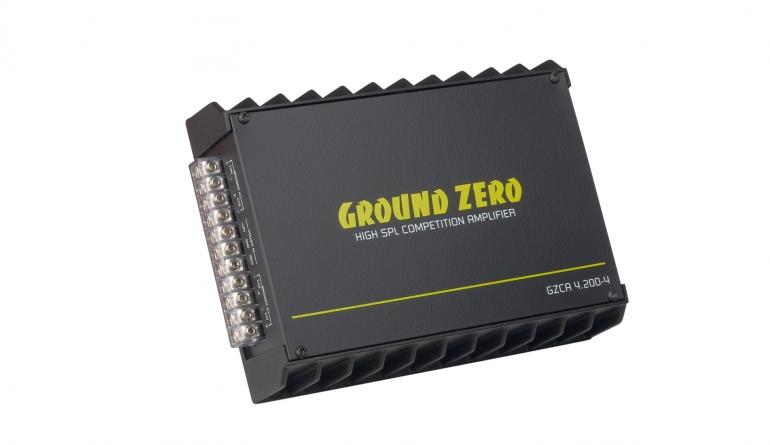 Car-HiFi Endstufe 4-Kanal Ground Zero GZCA 4.200-4 im Test, Bild 1
