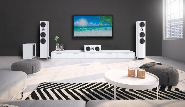 Lautsprecher Surround Heco Elementa-Set im Test, Bild 1