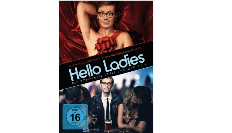 Blu-ray Film Hello Ladies – Die komplette Serie (Warner) im Test, Bild 1
