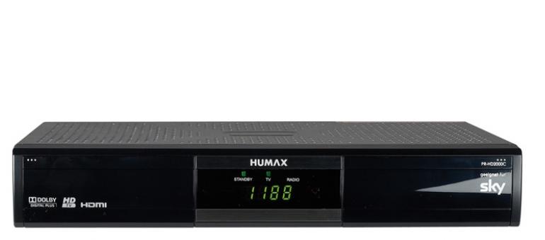 Kabel Receiver ohne Festplatte Humax PR-HD2000C im Test, Bild 1