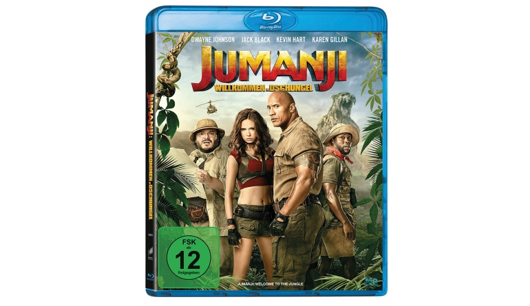 Blu-ray Film Jumanji – Willkommen im Dschungel (Sony) im Test, Bild 1