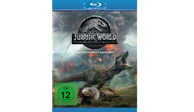 Blu-ray Film Jurassic World: Das gefallene Königreich (Universal) im Test, Bild 1