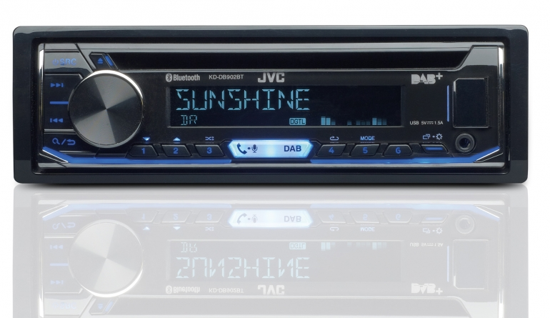1-DIN-Autoradios JVC KD-DB902BT im Test, Bild 1