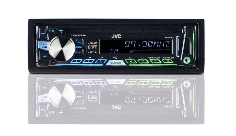 1-DIN-Autoradios JVC KD-R761 im Test, Bild 1