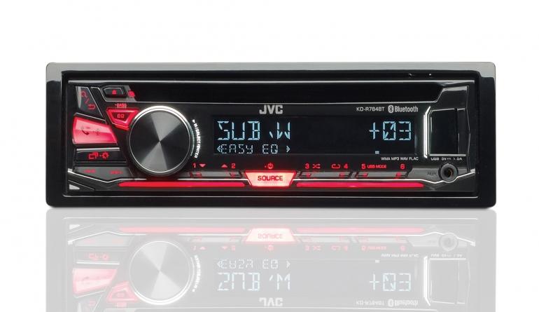 1-DIN-Autoradios JVC KD-R784BT im Test, Bild 1