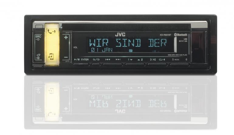 1-DIN-Autoradios JVC KD-R891BT im Test, Bild 1
