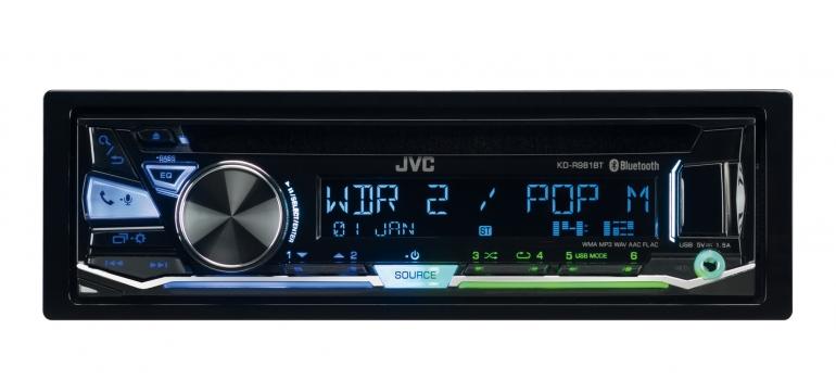 1-DIN-Autoradios JVC KD-R981BT im Test, Bild 1