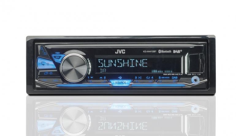 1-DIN-Autoradios JVC KD-X441DBT im Test, Bild 1