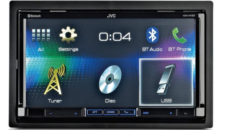 Moniceiver JVC KW-V41BT im Test, Bild 1