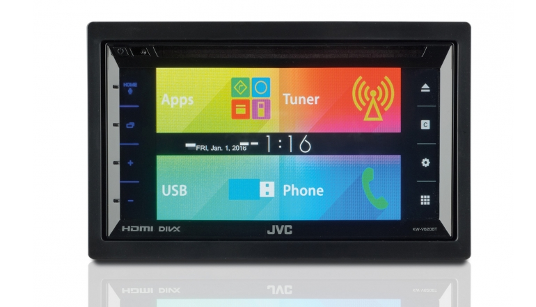 Moniceiver JVC KW-V620BT im Test, Bild 1
