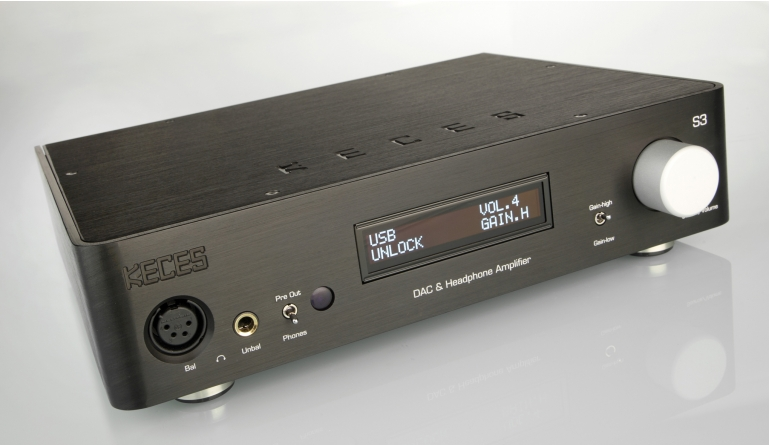 Kopfhörerverstärker Keces S3 im Test, Bild 1