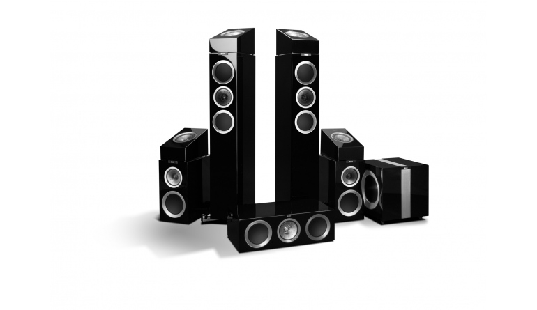 Lautsprecher Surround KEF R-500 5.4.1 Atmos-Set im Test, Bild 1