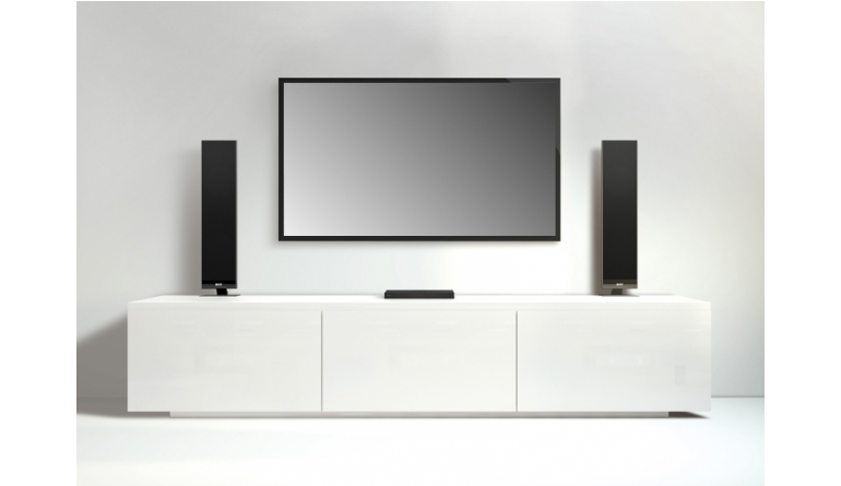 test tv soundsystem kef v300 sehr gut seite 2. Black Bedroom Furniture Sets. Home Design Ideas