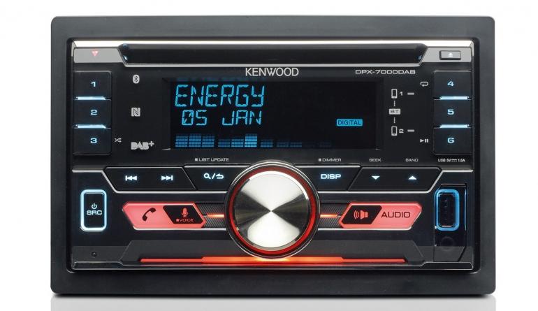 2-DIN-Autoradios Kenwood DPX-7000DAB im Test, Bild 1