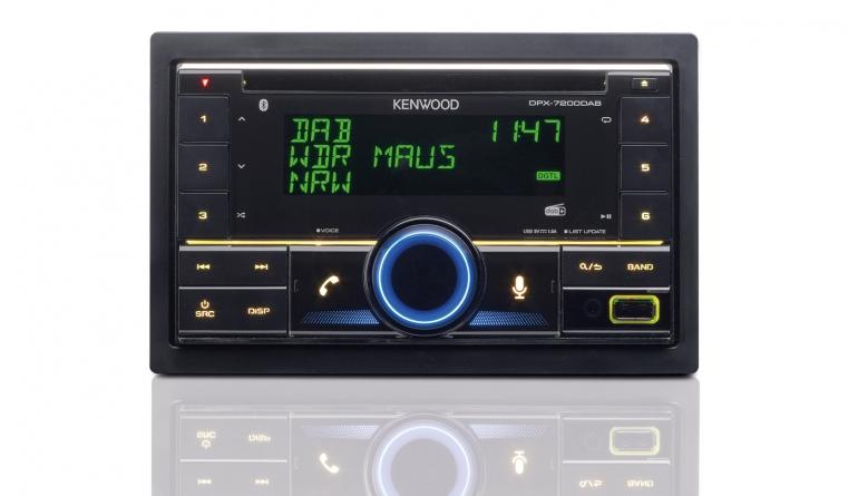 2-DIN-Autoradios Kenwood DPX-7200DAB im Test, Bild 1