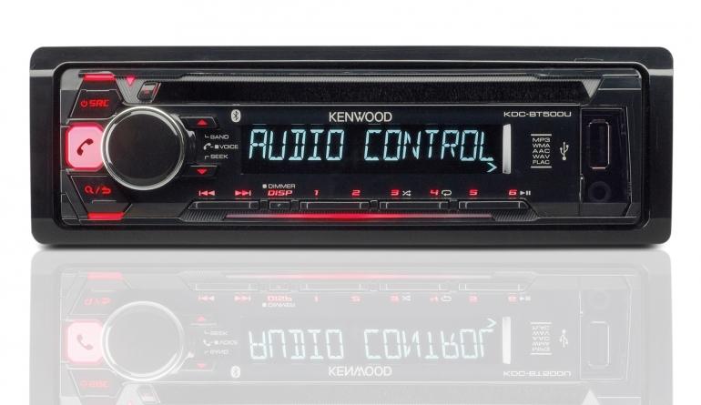 1-DIN-Autoradios Kenwood KDC-BT500U im Test, Bild 1