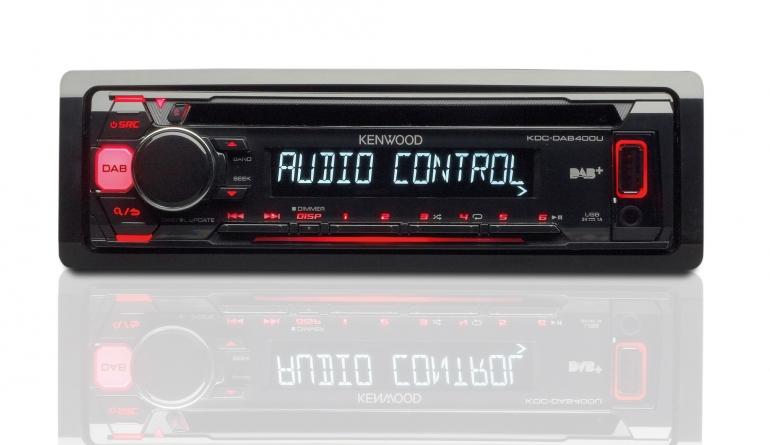 1-DIN-Autoradios Kenwood KDC-DAB400U im Test, Bild 1