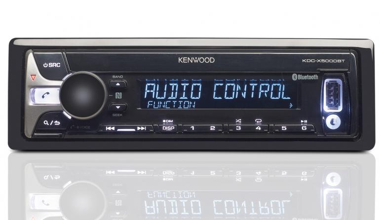 1-DIN-Autoradios Kenwood KDC-X5000BT im Test, Bild 1