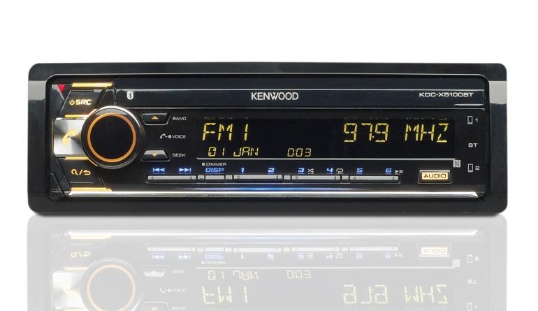 1-DIN-Autoradios Kenwood KDC-X5100BT im Test, Bild 1