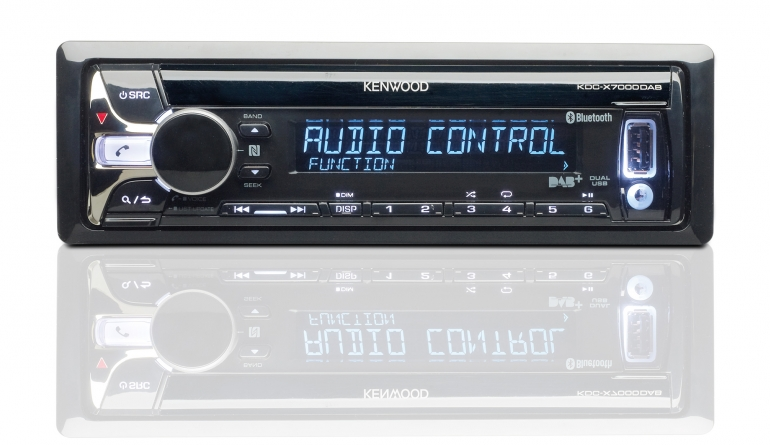 1-DIN-Autoradios Kenwood KDC-X7000DAB im Test, Bild 1