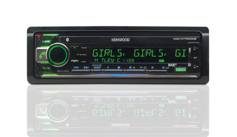 1-DIN-Autoradios Kenwood KDC-X7100DAB im Test, Bild 1