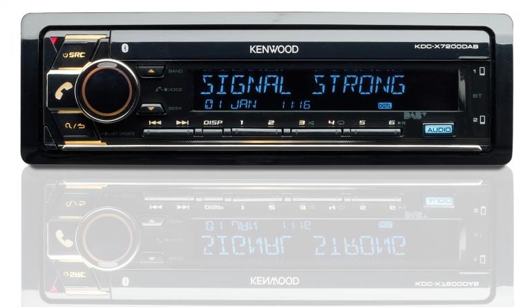 1-DIN-Autoradios Kenwood KDC-X7200DAB im Test, Bild 1
